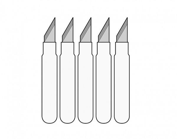 MS02-E - 5 Ersatzmesser für MS02