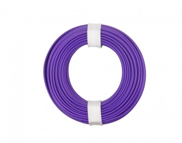125-016 - Kupferschalt Litze 0,25 mm² / 10 m / violett