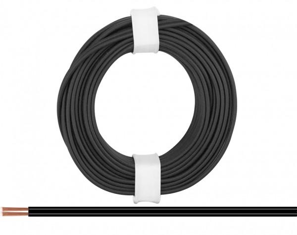 218-11 - Zwillingslitze 0,14 mm² / 5 m schwarz-schwarz