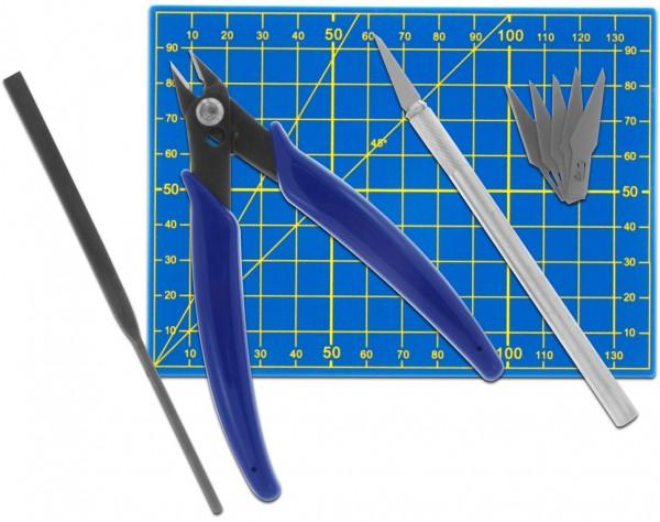 MS09 - Werkzeugset für Plastikmodellbau