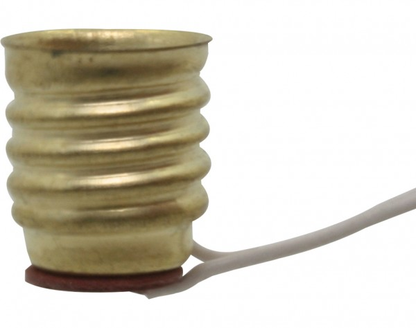 788 - Lampenfassung E10 Schwachstrom, mit 40 cm Litze
