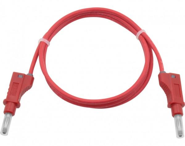 2120 - Silikon Sicherheitsmessleitung rot