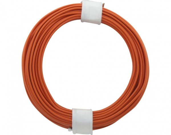 105-7 - Kupferschalt Draht 0,5 mm / orange