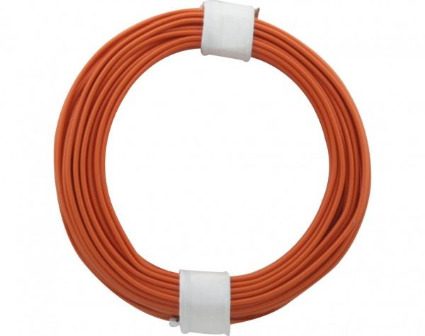118-7 - Kupferschalt Litze orange