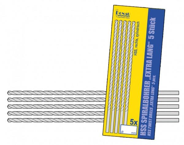 HSSL05 - HSS Bohrer 100 mm lang Ø 0,5 mm