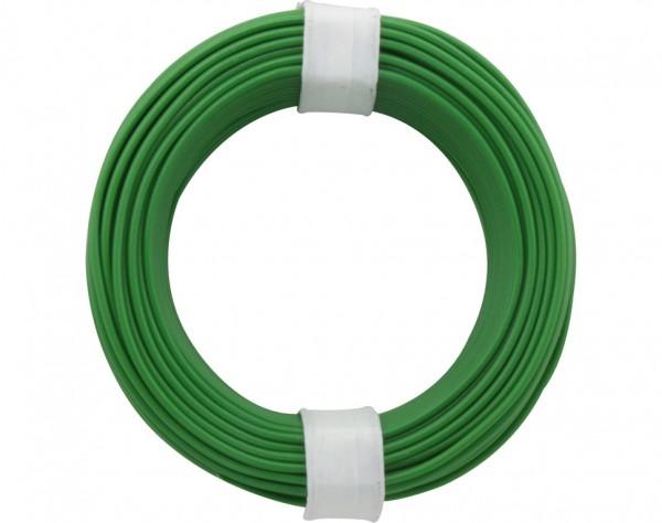 118-4 - Kupferschalt Litze 0,14 mm² / 10 m / grün