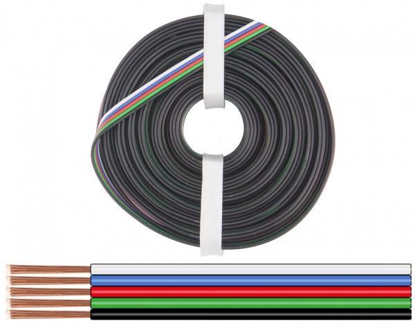 519-010 - Litze 5x0,25 mm² / 10m RGBW-LED