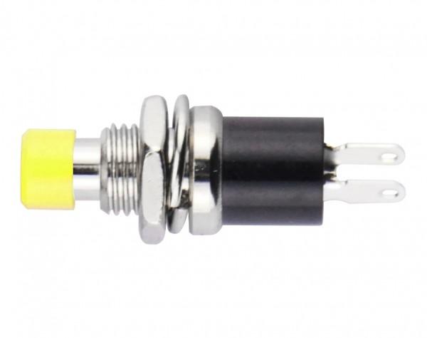 TSS13 - Miniatur Schließer, tastend, OFF-(ON), gelb