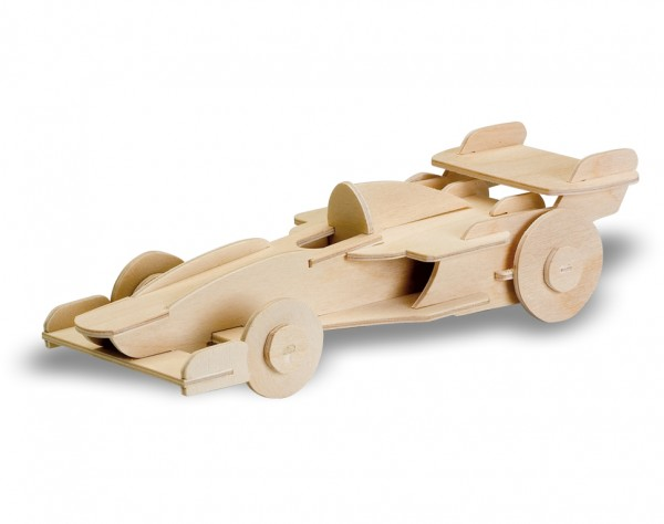 M850-11 - Holzbausatz Rennwagen