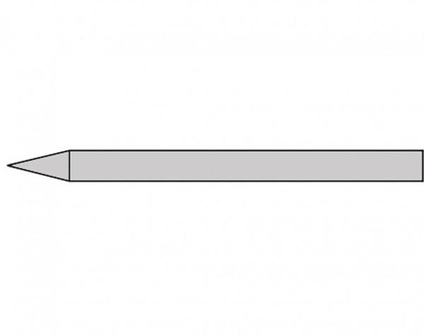 GS351 - 4 mm Lötspitze - Bleistiftform gerade