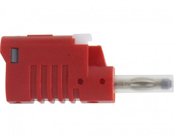1080 - Sicherheits Laborstecker 4mm rot