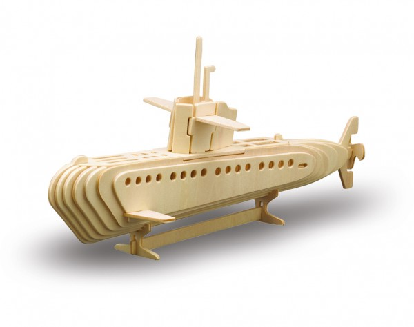 M866-3 - Holzbausatz U-Boot
