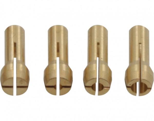 1508 - 4 Spannzangen für Ø 0,3 - 3,2 mm
