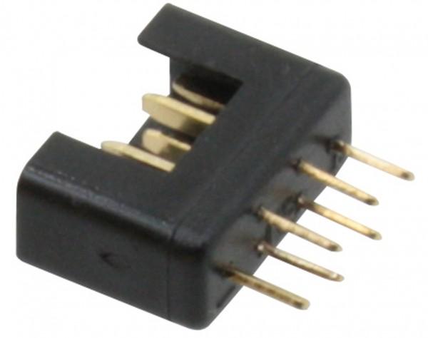 NES11 - Hochstrom Stecker schwarz