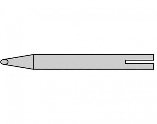 B8-161 - 2 mm Lötspitze - Keilform