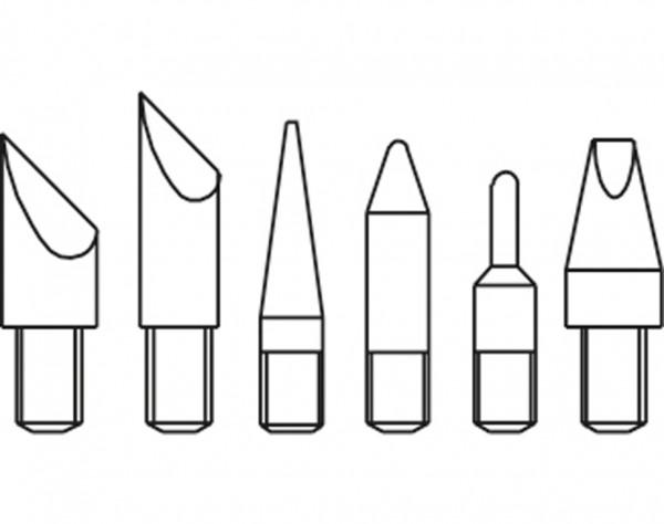 0269-40 - Brenn und Modellierspitzen Set 6-tlg.