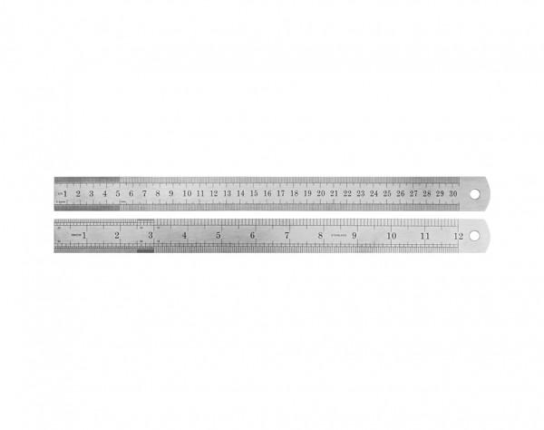 MLS30 - Stahl-Lineal 300 mm