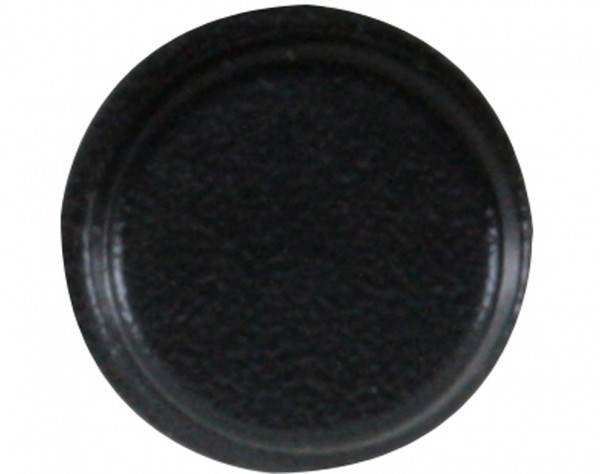 E19 - Gerätefüße schwarz, rund, Ø 19 mm