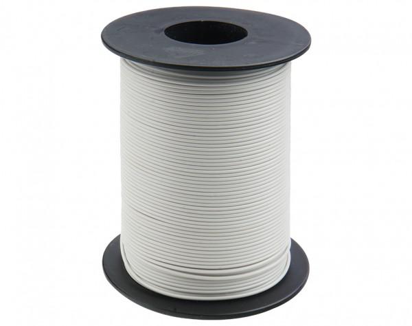 125-S50-5 - Kupferschaltlitze 0,25 mm² / 50m auf Spule weiss