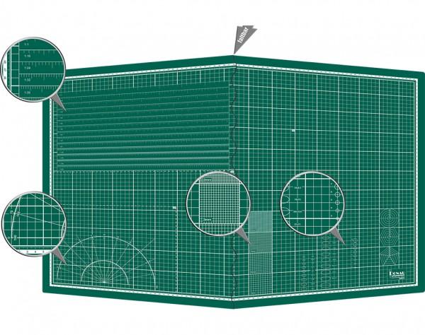 MS-A1 - Selbstheilende Schneidematte A1 (900 x 600 x 3 mm) faltbar