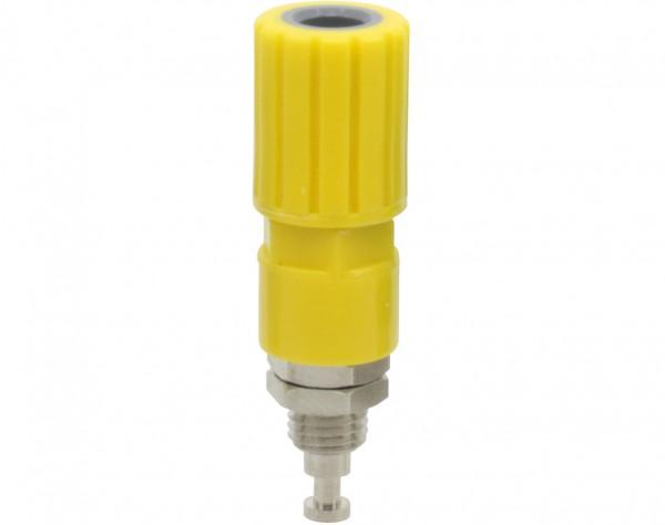 3253 - Polklemme 4mm gelb