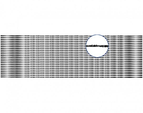 M134 - Rund Laubsägeblätter für Holz 2 x 12 Stück