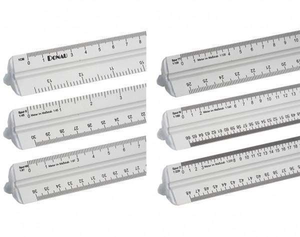 ML60 - Alu Maßstabslineal 300 mm