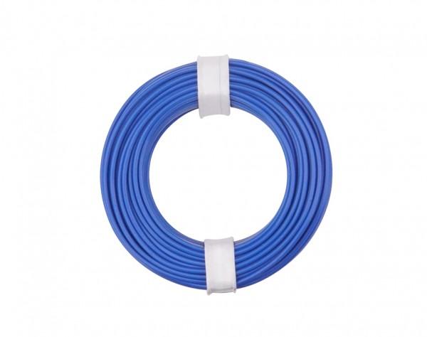 125-012 - Kupferschalt Litze 0,25 mm² / 10 m / blau