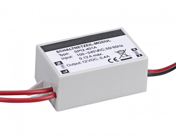 DM402 - Schaltnetzteil Modul 12 VDC - 0,4 A - Anschlusslitzen
