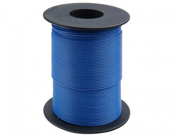 119-12 - Kupferschalt Litze 0,14 mm² / 100m blau