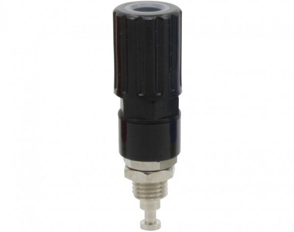 3251 - Polklemme 4mm schwarz