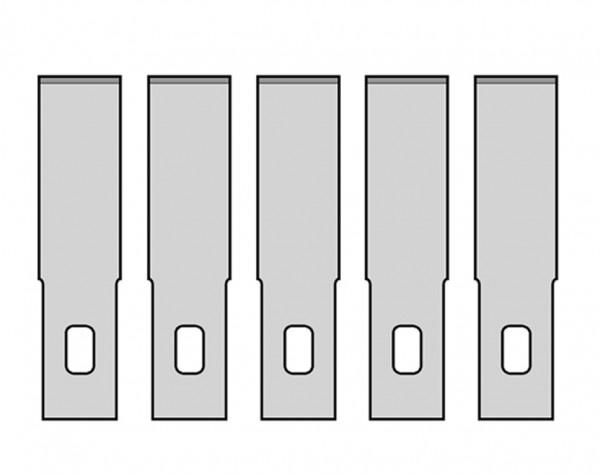 MS06 - 5 Ersatzmesser Nr.2
