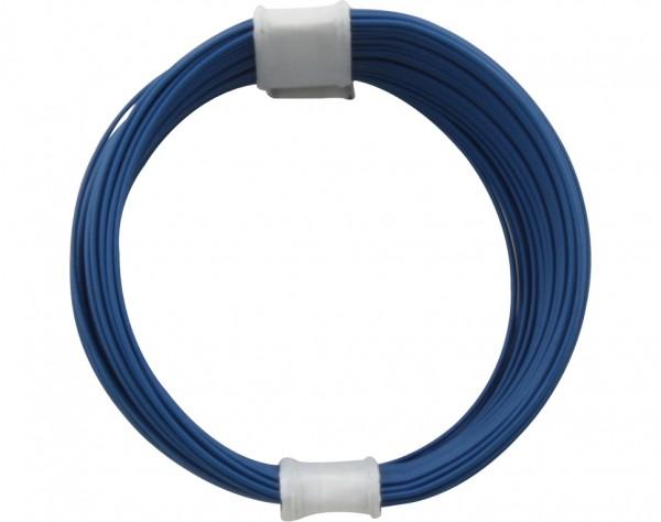 110-2 - Kupferschalt Litze 0,04 mm² / 10 m blau