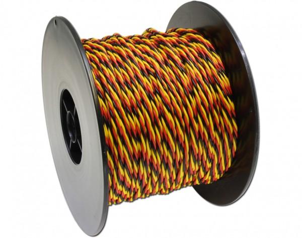 325M - PVC Kabel 3-adrig 100m für Multiplex
