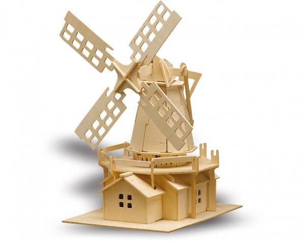 M873 - Holzbausatz Windmühle