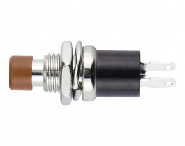 TSS18 - Miniatur Schalter, rastend, ON-OFF, braun