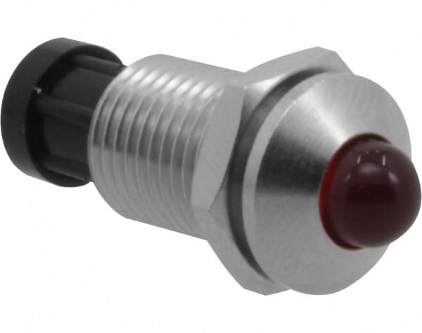 5VA - LED Fassung aus Metall, 5 mm, Aussenreflektor