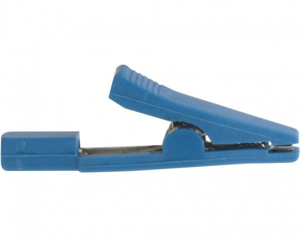 MA12 - Miniatur Abgreifklemme blau
