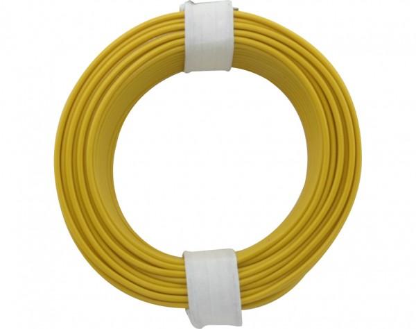 105-3 - Kupferschalt Draht 0,5 mm / gelb