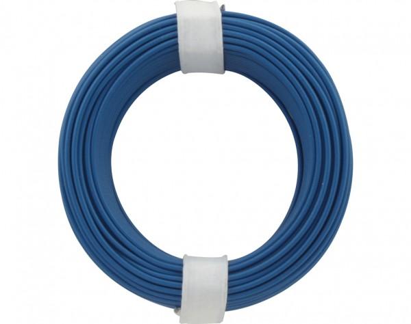 105-2 - Kupferschalt Draht 0,5 mm / blau