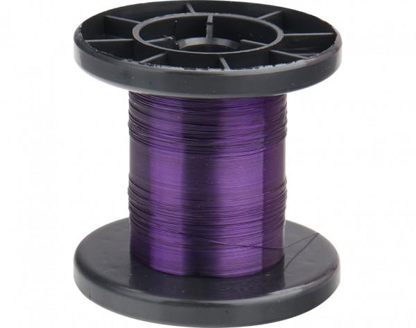 LD15-6 - Kupfer Lackdraht Ø 0,15 mm violett
