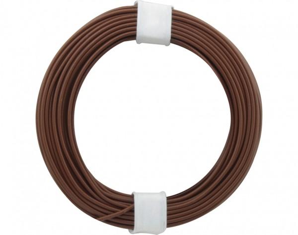 105-8 - Kupferschalt Draht 0,5 mm / braun