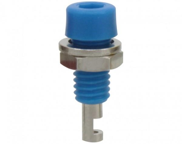 222 - Miniaturbuchse 2mm blau