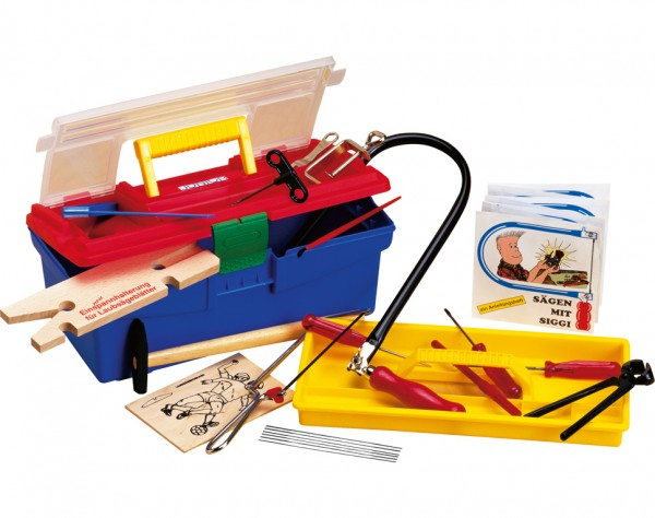 M640S - Laubsäge Set in Plastikbox