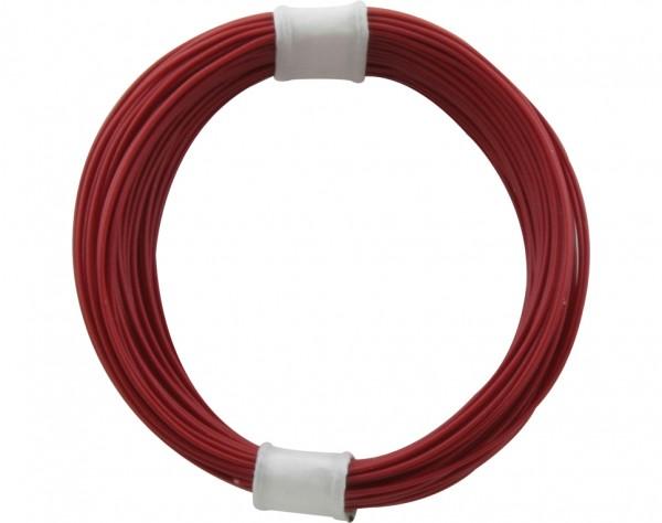 110-0 - Kupferschalt Litze 0,04 mm² / 10 m rot