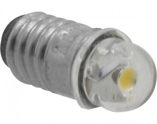 770 - LED Glühlämpchen mit Fassung E5,5 - 12-19 V