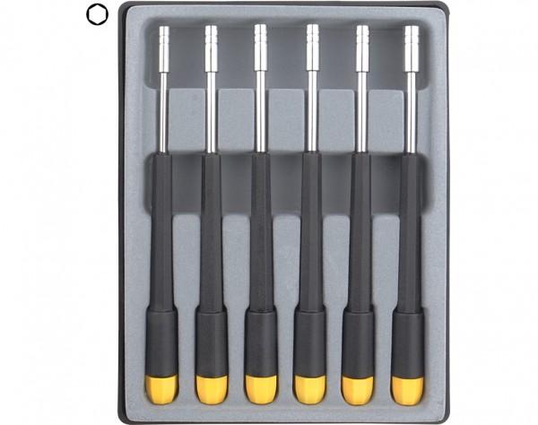 280-66 - Sechskant Steckschlüssel Set 6-tlg. 2,0 - 4,0 mm