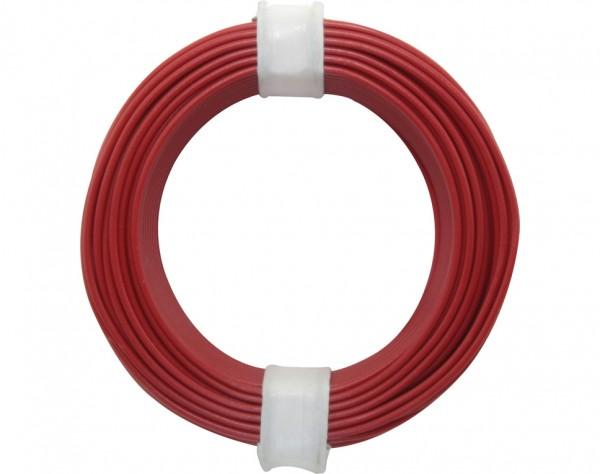 118-0 - Kupferschalt Litze 0,14 mm² / 10 m / rot