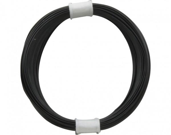 110-1 - Kupferschalt Litze 0,04 mm² / 10 m schwarz