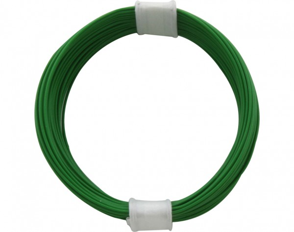 110-4 - Kupferschalt Litze 0,04 mm² / 10 m grün